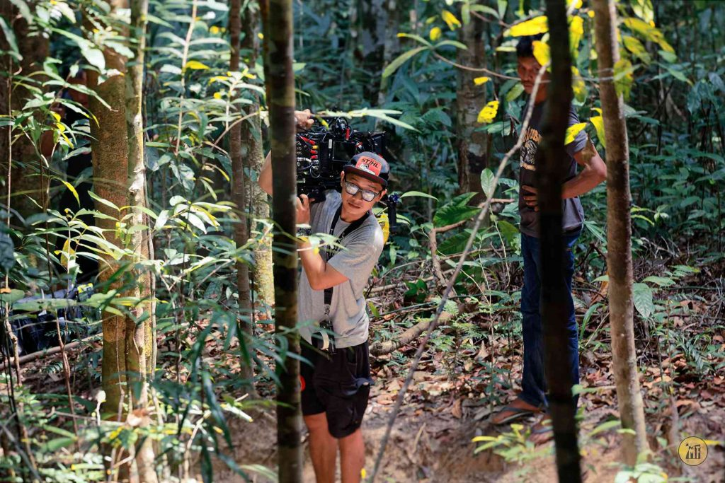 Film Production Services Indonesia Film Crew Member In Jungle