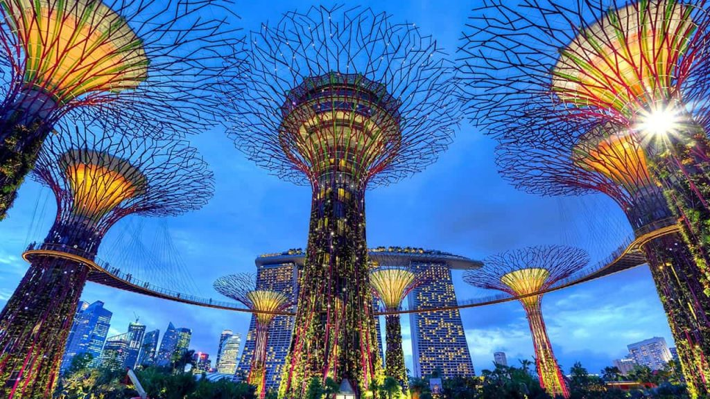 Film Production Company Singapore Mbrella Films Filming Locations singapore hanging gardens