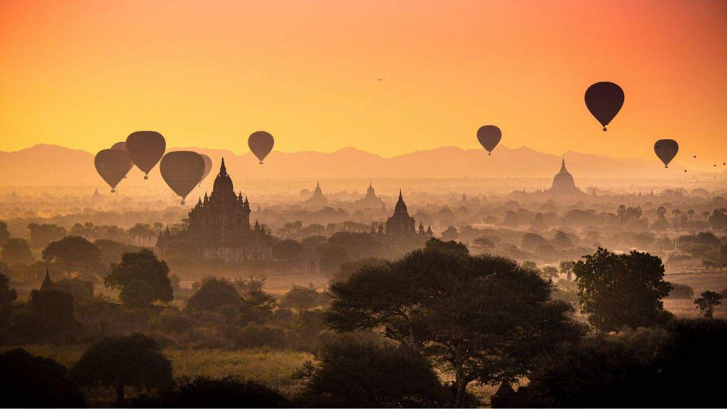 Film Production Services Myanmar Myanmar Hot Air Balloon