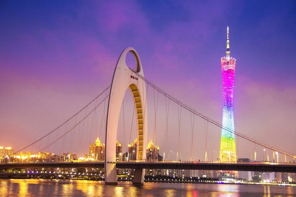 Film Production Company Guangzhou Locations Canton Tower