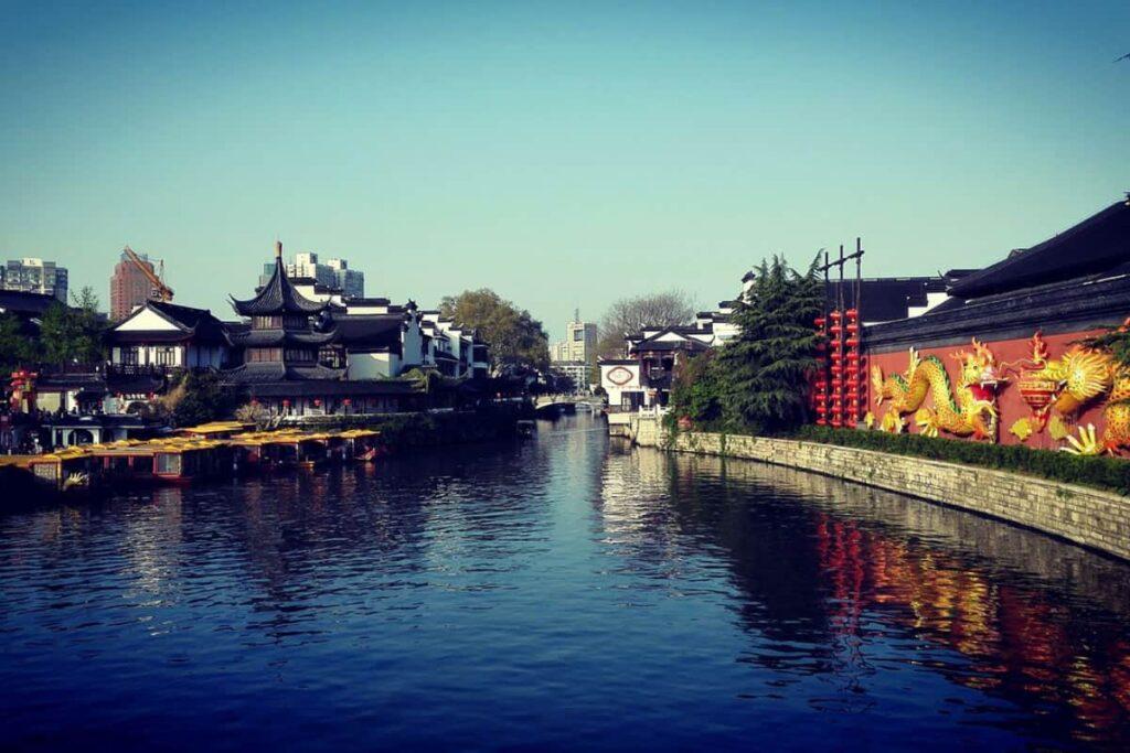 Film Production Company Nanjing Locations Qinhuai River_