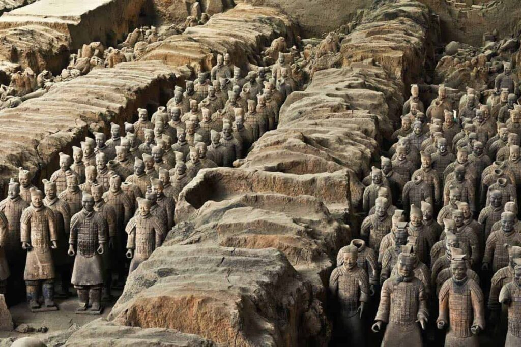 Film Production Company Xi_an Locations Terracotta Army