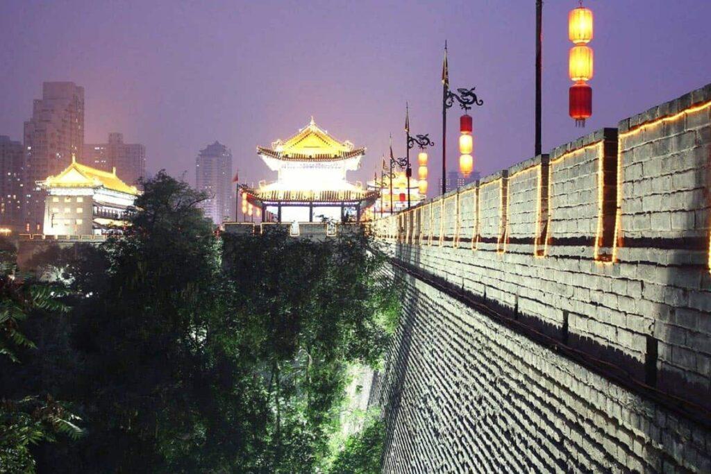Film Production Company Xi_an Locations Xi_an City Walls